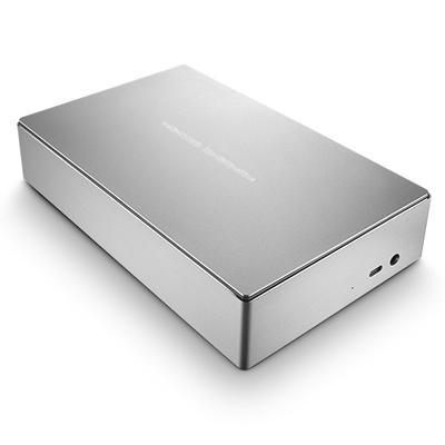 Lacie externe harde schijf: Porsche Design Desktop Drive - Zilver