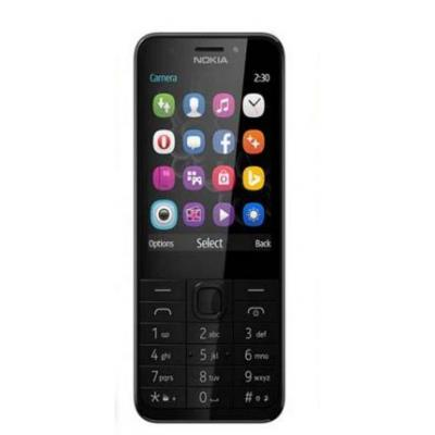 Nokia mobiele telefoon: 230 DS - Grijs, Zilver