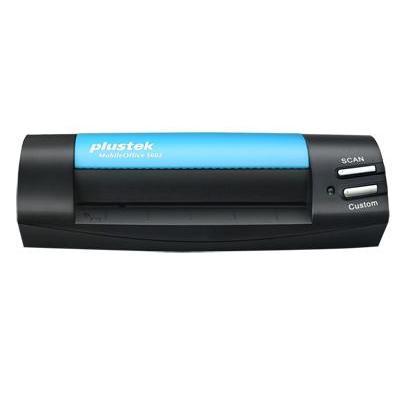 Plustek MobileOffice S602 Scanner - Zwart, Blauw