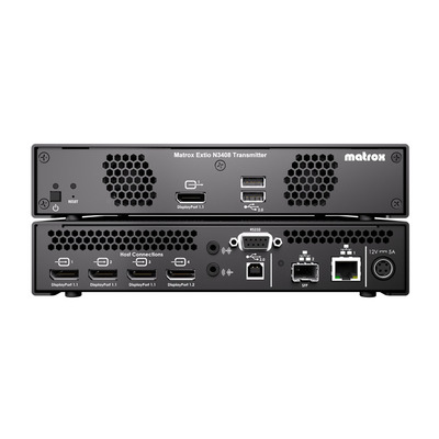 Matrox Extio 3 N3408 IP KVM Extender Transmitter Appliance / XTO3-N3408TX