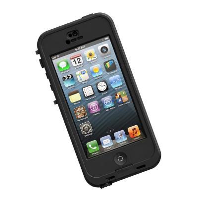 Lifeproof mobile phone case: f / iPhone 5 & iPhone 5s, Black - Zwart