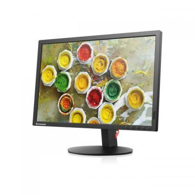 Lenovo monitor: ThinkVision T2254 - Zwart