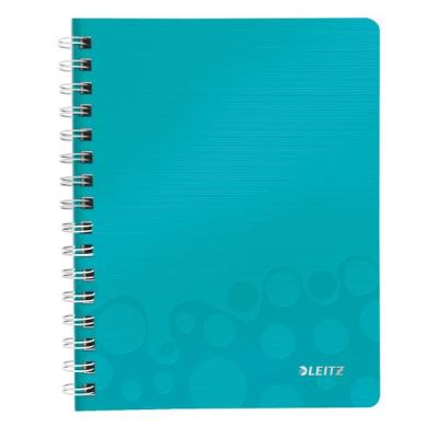 Leitz schrijfblok: WOW notitieboek - Turkoois