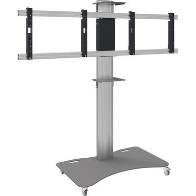 """SmartMetals 80 kg, 55"""", 95 kg max, 170 x 140 mm TV standaard - Aluminium,Grijs"""