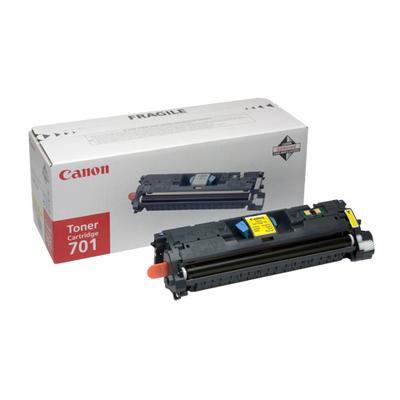 Canon Cartridge 701L Toner - Geel