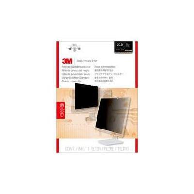 "3M Privacy Filter for Widescreen Desktop LCD Monitor 50.8 cm (20.0"") Schermfilter - Transparant"
