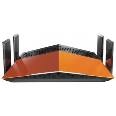 D-link wireless router: AC1900 EXO - Zwart, Oranje