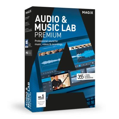 Magix audio software: Magix, Audio + Music Lab 2017 Premium