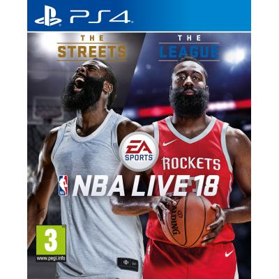 Electronic arts game: NBA Live 18  PS4