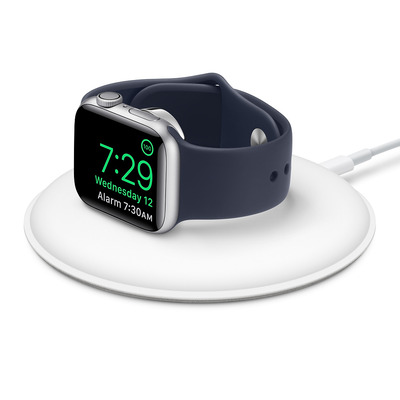 Apple Watch Magnetic Charging Dock Oplader - Wit
