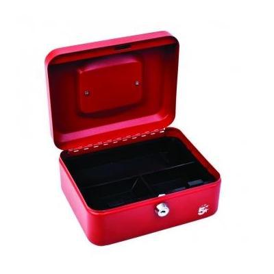 5star geldkist: Geldkoffer ft 20 x 9 x 16 cm, rood