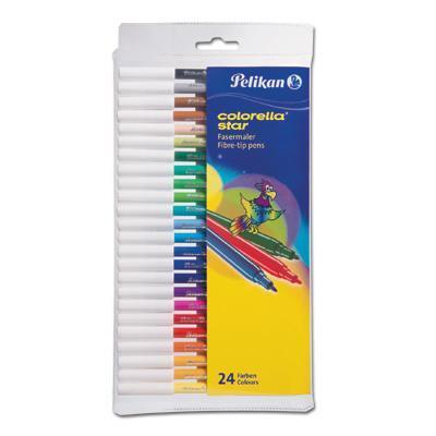 Pelikan viltstift: C302/24 - Multi kleuren