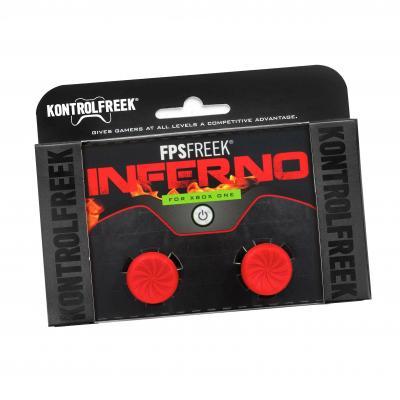 Kontrolfreek : FPS Freek Inferno thumbsticks voor Xbox One - Rood