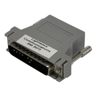 Lantronix 200.2073 Kabel adapter - Grijs