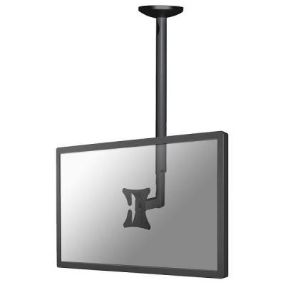 Newstar flat panel plafond steun: flatscreen plafondsteun - Zwart