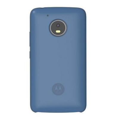 Lenovo mobile phone case: Silicone Back Cover for Moto G5 - Blauw