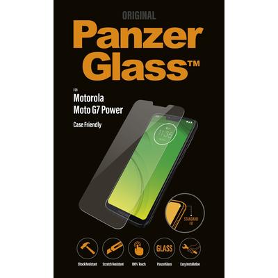 PanzerGlass Motorola Moto G7 Power Edge-to-Edge Screen protector - Transparant