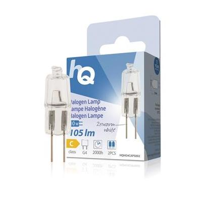 Hq halogeenlamp: Halogen lamp capsule G4 10W 105lm 2800K