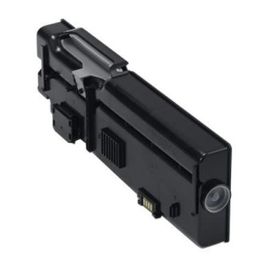 Dell toner: 1200-Page Black Toner Cartridge for C2660dn/ C2665dnf Color Laser Printer - Zwart