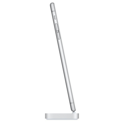 Apple mobile device dock station: iPhone Lightning Dock - Zilver