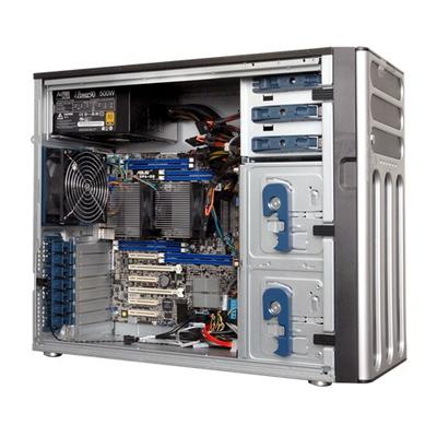 Asus server barebone: TS500-E8-PS4 V2 - Zwart