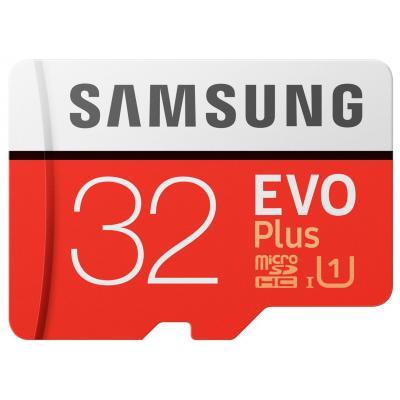 Samsung flashgeheugen: EVO Plus MB-MC32G - Rood, Wit