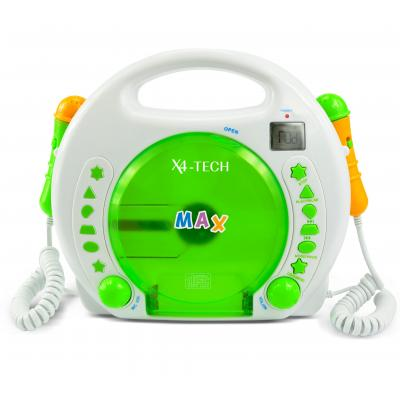 X4-tech musical toy: Bobby Joey - Groen, Oranje, Wit
