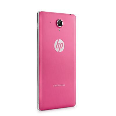 Hp tablet case: Slate 6 VoiceTab Pink Back Cover - Roze
