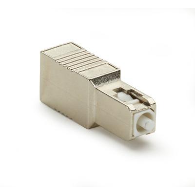 Black Box M/F SC, UPC, 15dB Fiber optic adapter - Goud