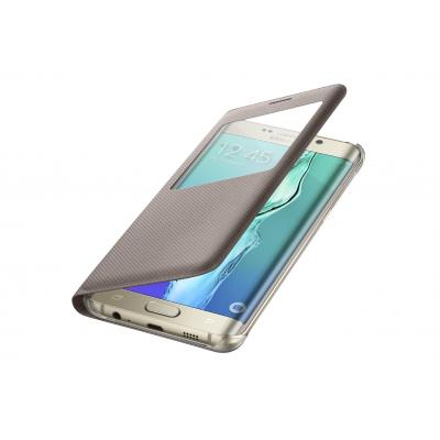 Samsung mobile phone case: S-View Flip Cover - Goud