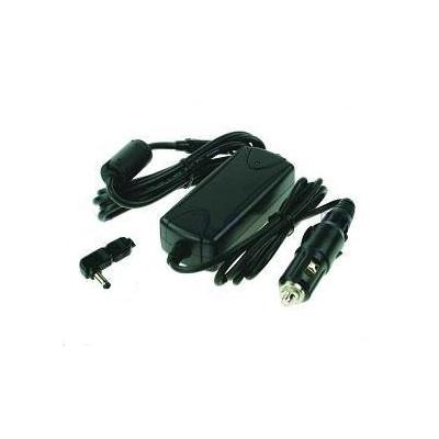2-power netvoeding: Car & Aircraft Adapter for IBM ThinkPad 600 - Zwart