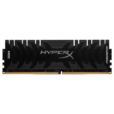 HyperX Predator 8GB, DDR4-3200 CL16, 288-Pin DIMM RAM-geheugen - Zwart