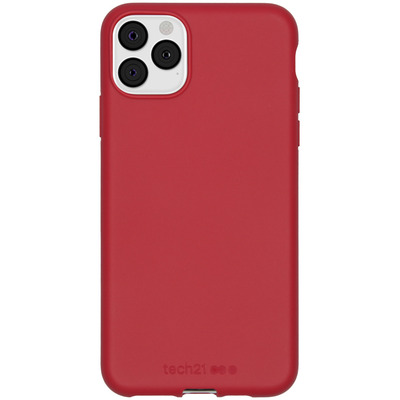 Antimicrobial Backcover iPhone 11 Pro Max - Terra Red - Rood / Red Mobile phone case