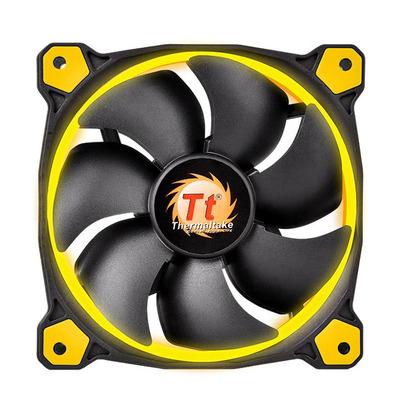 Thermaltake Hardware koeling: Riing 12 - Zwart, Geel