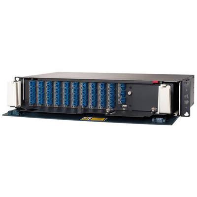 Cisco patch panel: 15216-MD-40-EVEN - Zwart, Blauw