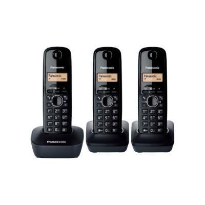 Panasonic dect telefoon: KX-TG1613 - Zwart
