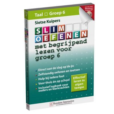Karakter educatieve software: Slim Oefenen, Met begrijpend lezen voor Groep 6