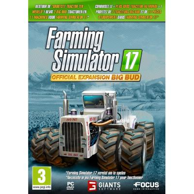 Focus home interactive game: Farming Simulator 17 (Big Bud Expansion Pack)  PC