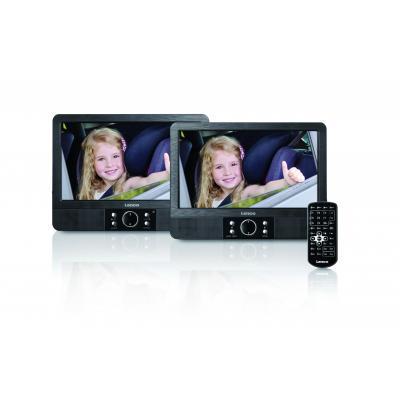 Lenco portable DVD player: MES-405 - Zwart