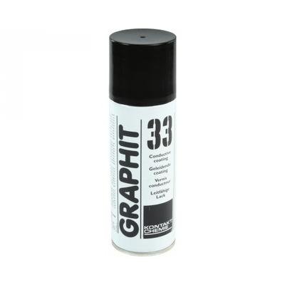 Kontakt chemie lucht verfrisser: Graphit 33 - Zwart, Wit