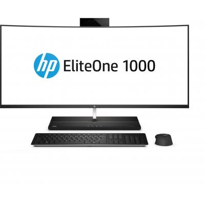 Hp all-in-one pc: EliteOne EliteOne 1000 G1 34-in Curved All-in-One Business PC - Zwart (Renew)