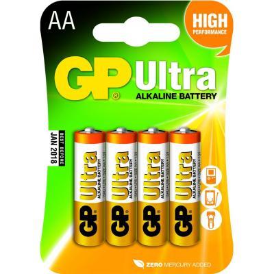 Gp batteries batterij: Ultra Alkaline AA - Veelkleurig