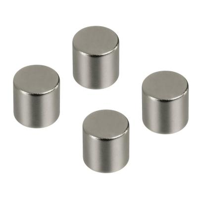 Hama koelkastmagneet: Magnets, cylindrical, 4 pieces - Zilver
