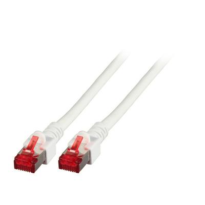 EFB Elektronik Cat.6 Patch Cable S/FTP 250MHz, white Netwerkkabel - Wit