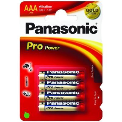 Panasonic LR03PPG/4BP batterij
