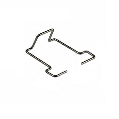 Raritan kabelklem: Retaining clip, Pack 100 Clips - Metallic