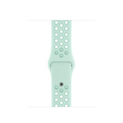 Apple 40mm Teal Tint/Tropical Twist Nike Sport Band – S/M & M/L horloge-band - Muntkleur