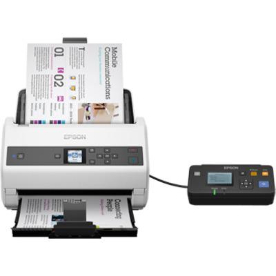 Epson WorkForce DS-870N Scanner - Zwart,Wit