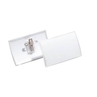 Durable 8214-19 Badge - Transparant