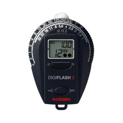 Gossen lichtmeter: Digiflash 2 - Zwart